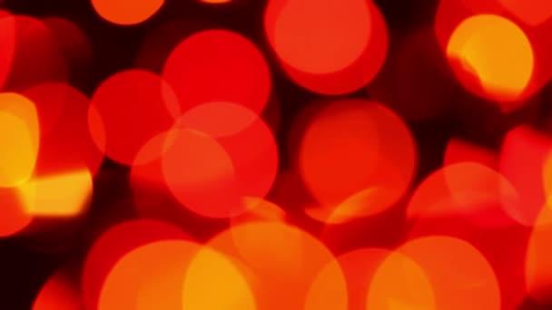 Defocused lights, motion background