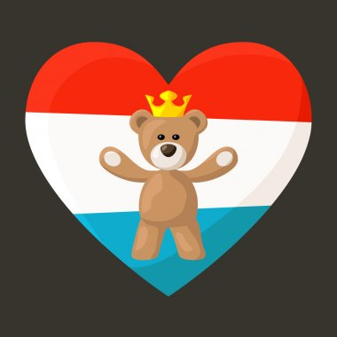 Luxembourg Royal Teddy Bear