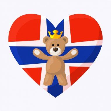 Norwegian Royal Teddy Bear