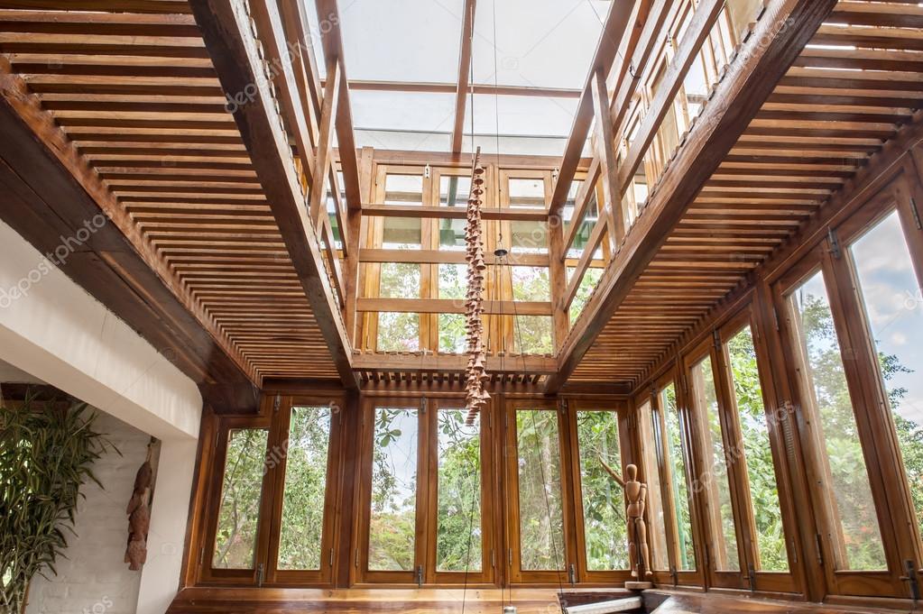Wohnzimmer in Bambus — Stockfoto © Photofollies #28136455