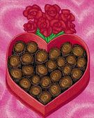 ilustrace Valentine