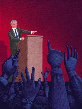 Illustration of Press Secretary