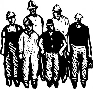 Crew of Workmen