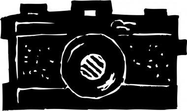 Vector Illustration of Camera