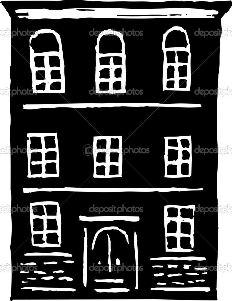 Vector Illustration Of Apartment Building Stock Vector C Ronjoe