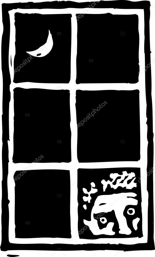 Resultado de imagem para ilustração de voyeurismo