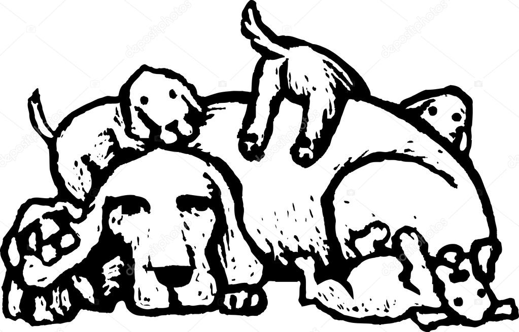 Image result for mother dog cartoon