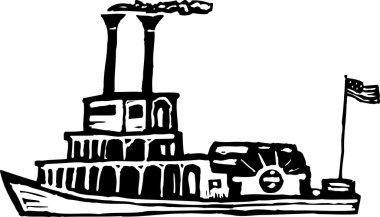 Riverboat or Paddleboat