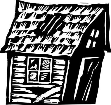 Vector illustration of Shack