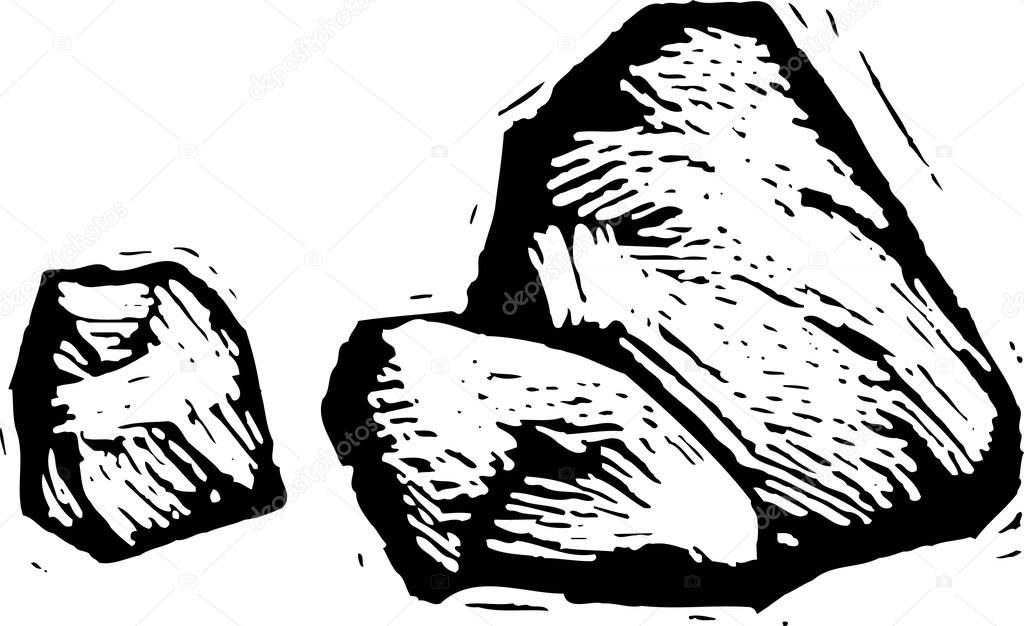 Vector Illustration of Cocktail On the Rocks