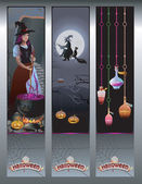 Halloween bannerek