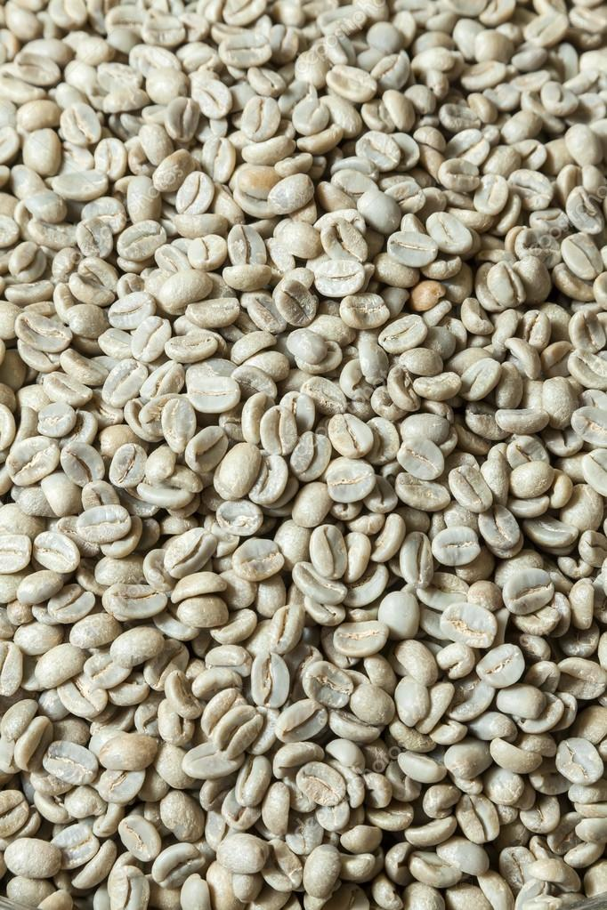 Unroasted Coffee Beans >> Unroasted Coffee Beans Close Up Top View Stock Photo