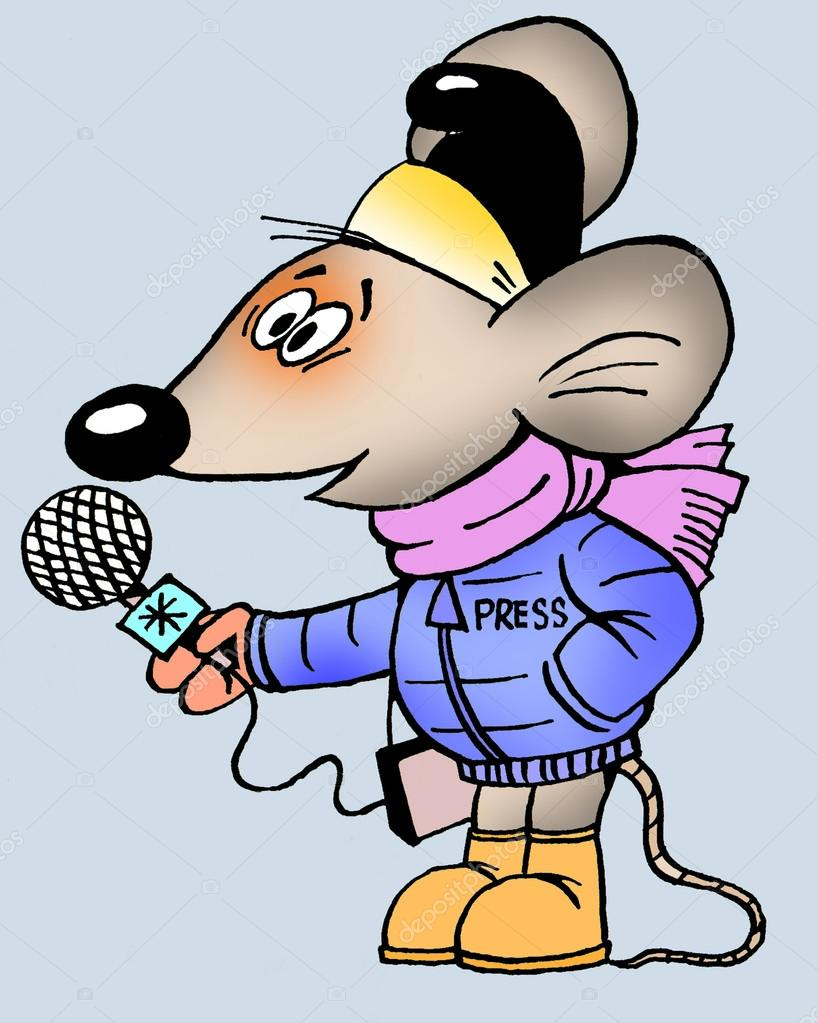 смешные рисунки о журналисте интересный
