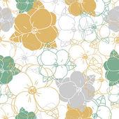 Fényképek Absztrakt elegancia Seamless pattern, virágos háttérrel. Varrat nélküli mintát lehet használni a háttérkép, a kitöltőmintáikat, a weblap háttér, felszíni textúrák. Gyönyörű virágos varratmentes háttérben Eps 10