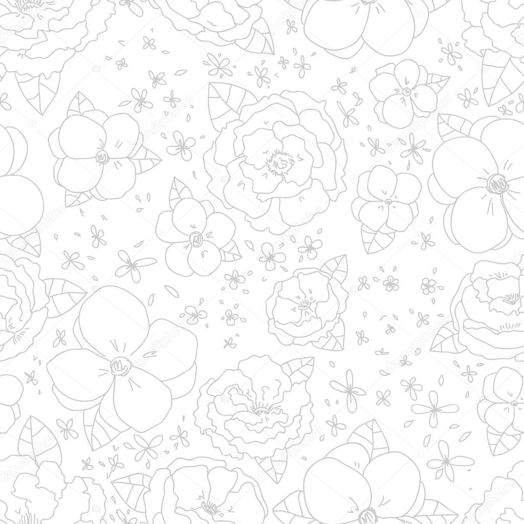 Wallpapers pattern fills web page backgrounds surface textures - Seamless Pattern Can Be Used For Wallpaper Pattern Fills Web Page Backgrounds Surface Textures Gorgeous Seamless Floral Background Vector By Artnis