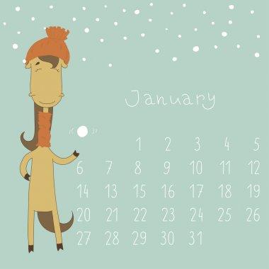 Calendar for January 2014.