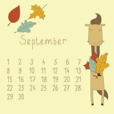 Calendar for September 2014.