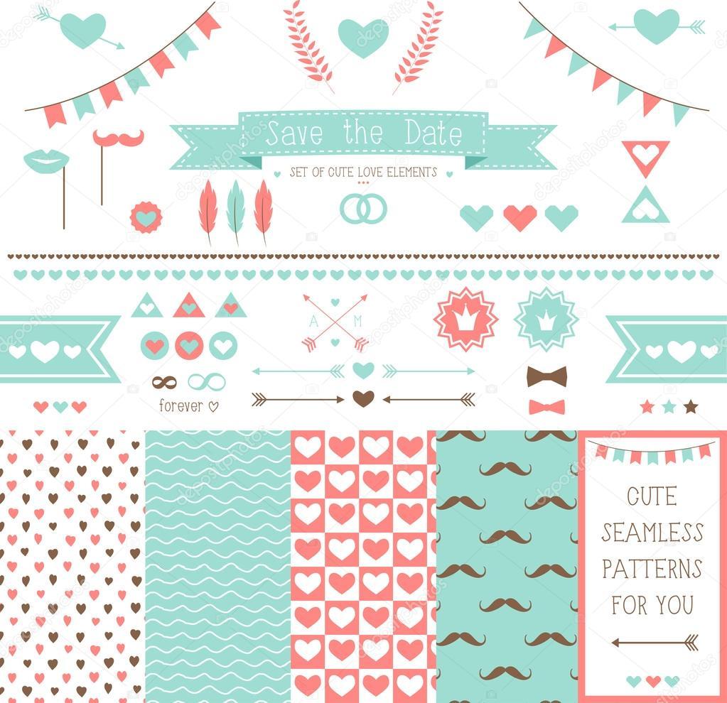Elements for wedding design