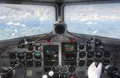 Dc3 Cockpit Bord-Dashboard-Ansicht