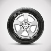 Fotografie auto pneumatiky, vektor