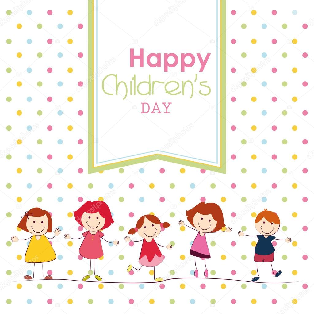 present happy childrens day - HD 1300×1300