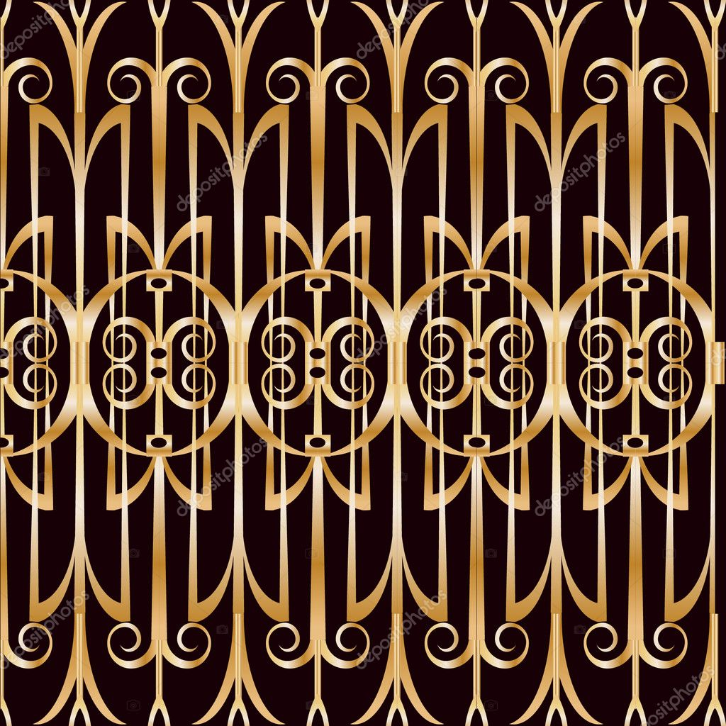 art deco geometric pattern stock vector elenabesedina 36070475. Black Bedroom Furniture Sets. Home Design Ideas