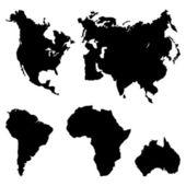 Kontinenty piktogram