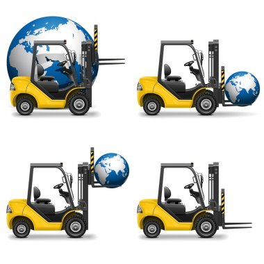 Vector Shipment Icons Set 19