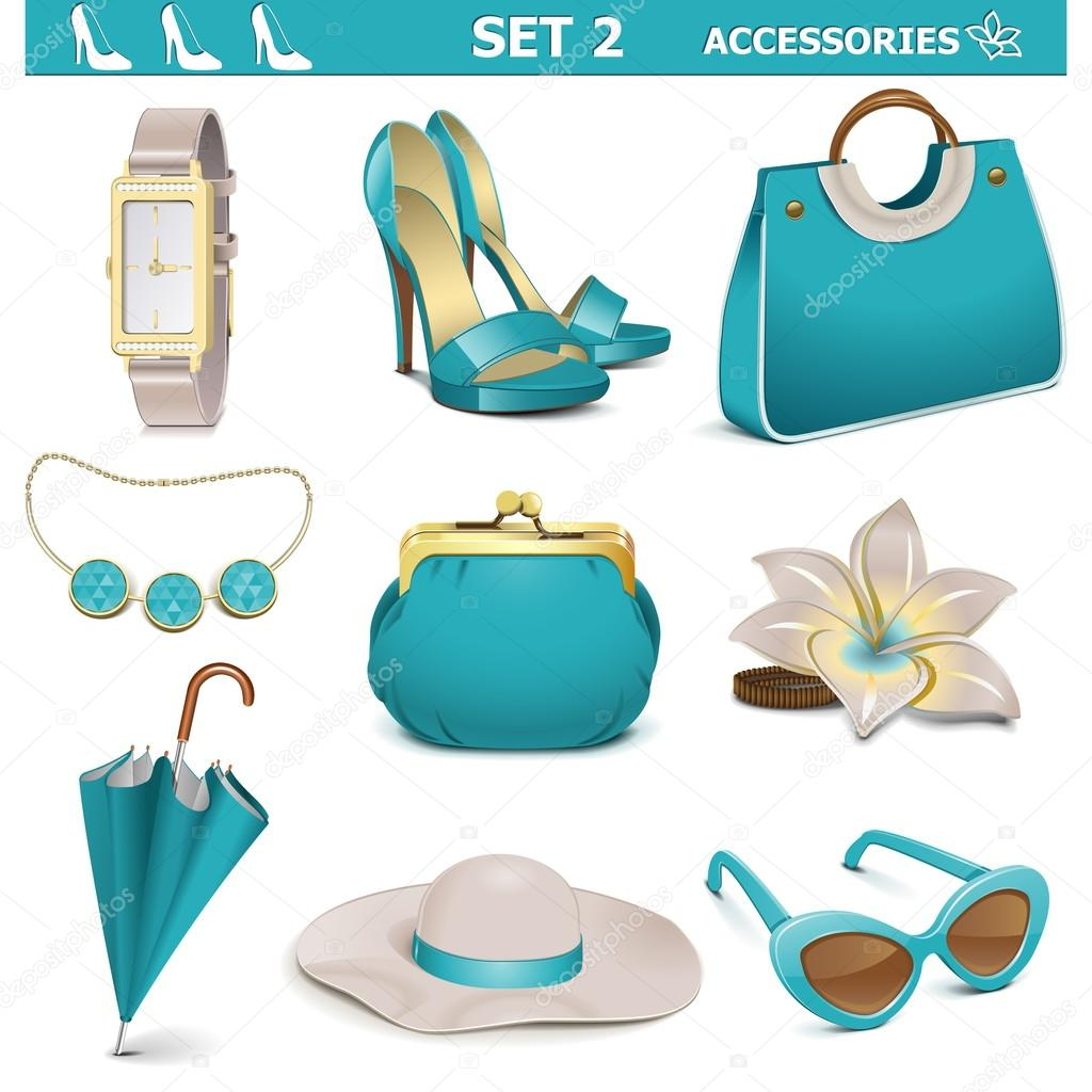 Vector Female Accessories Set 2