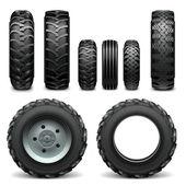 Vektor Traktor Reifen