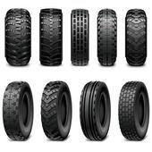 Vektor-LKW und Traktor Reifen
