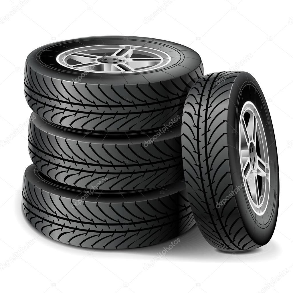 Vector Tire Set