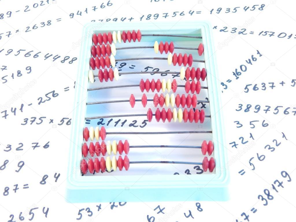partituras y números, Resumen, financian, contabilidad — Foto de ...