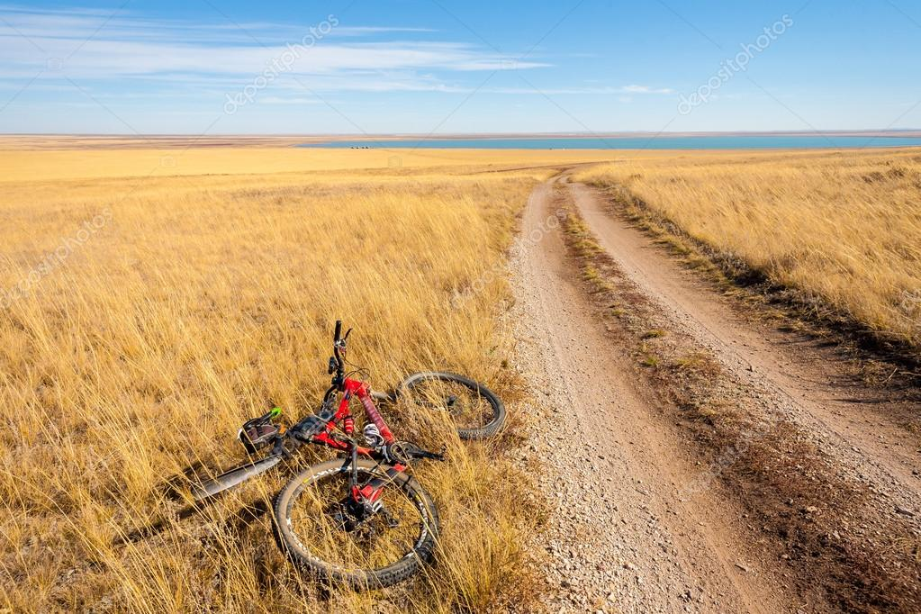 Cyclist rolling
