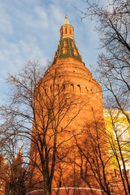 Center of the Russian capital Moscow Kremlin Castle