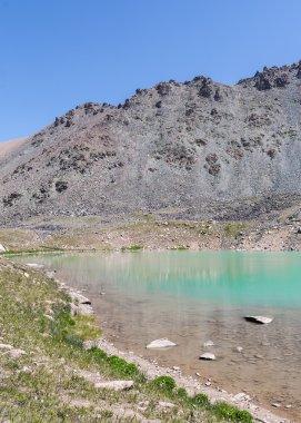 amazing beauty of small lakes cavities crustal