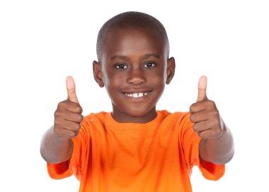 Cute african boy
