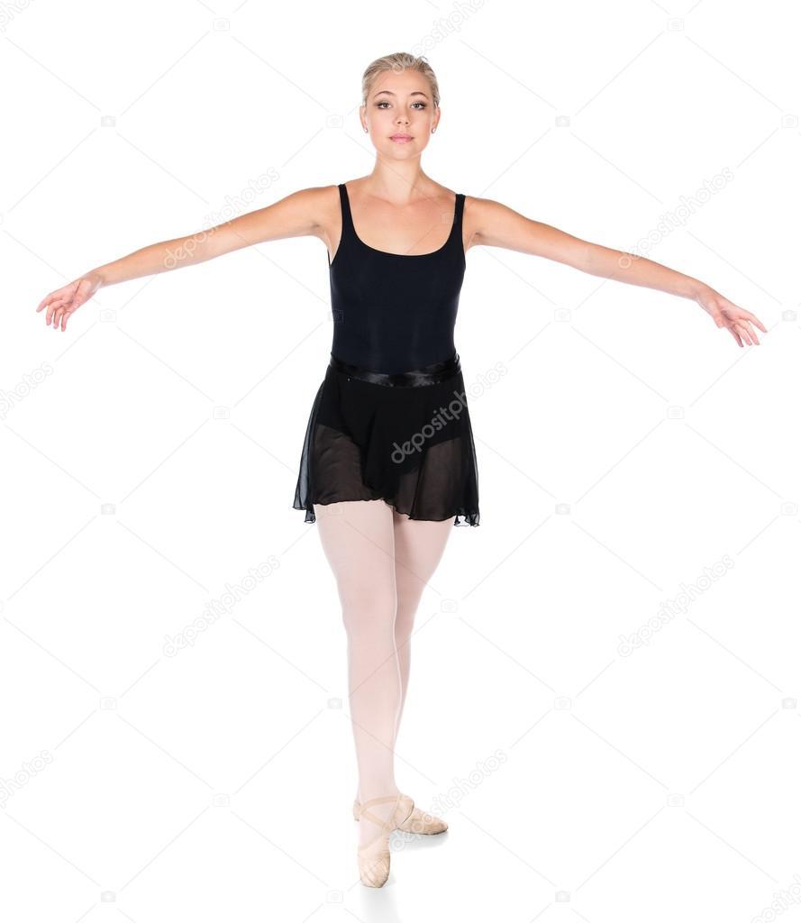 bailarín de ballet clásico femenino — Fotos de Stock © handmademedia ...