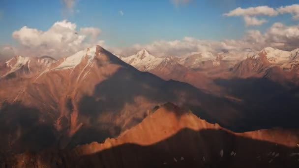 Time Lapse Clouds Sunset Mountains