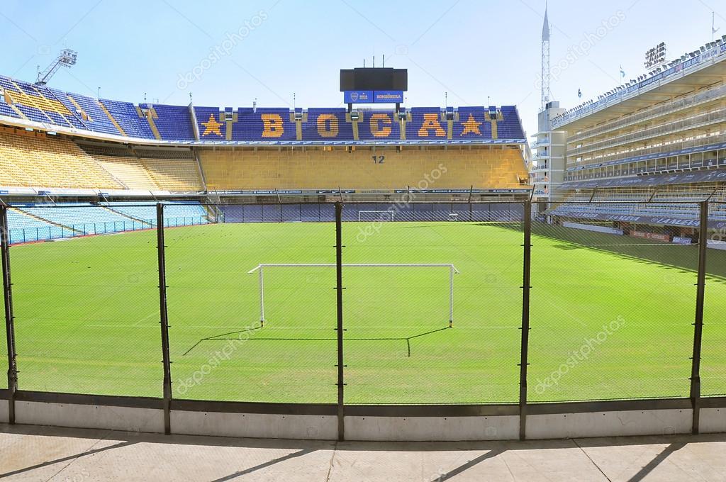 Bombonera stadium.