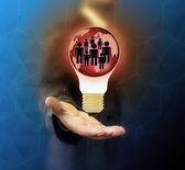 Üzletember A megfelelő személy kiválasztása