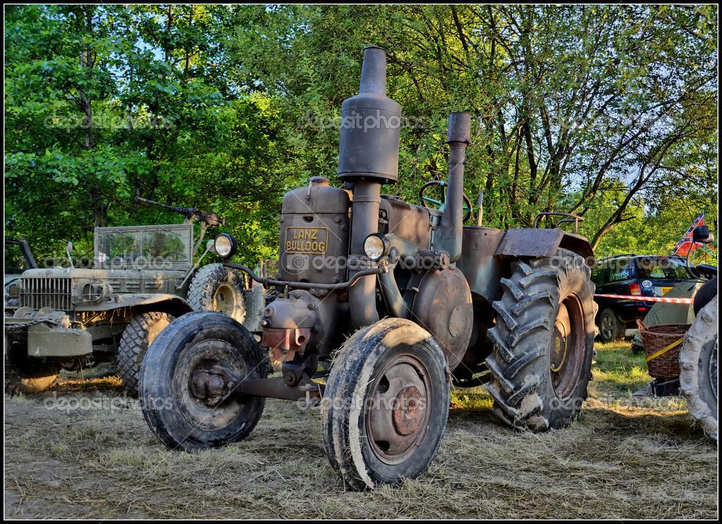 HDR old tractor LANC BULLDOG – Stock Editorial Photo © slawek74