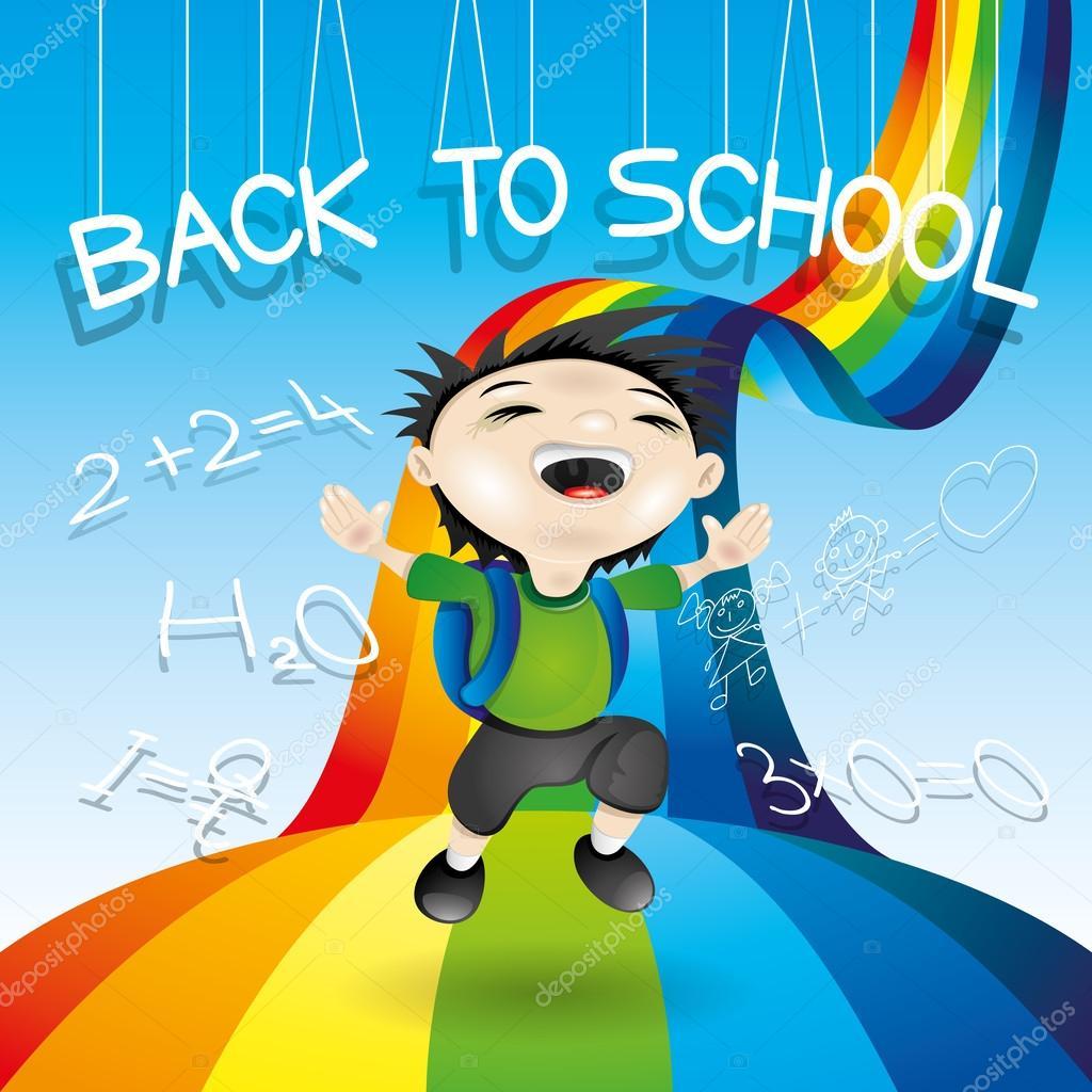 Back to school illustration.