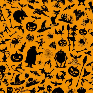 Halloween background.