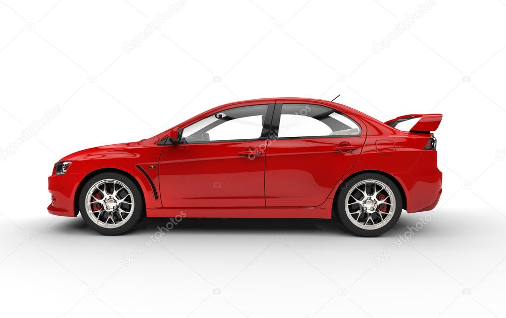 Red Race Car Side View Stock Editorial Photo C Svitac