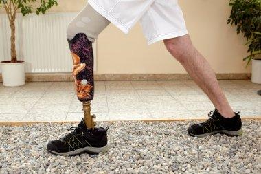 Male posthesis wearer training