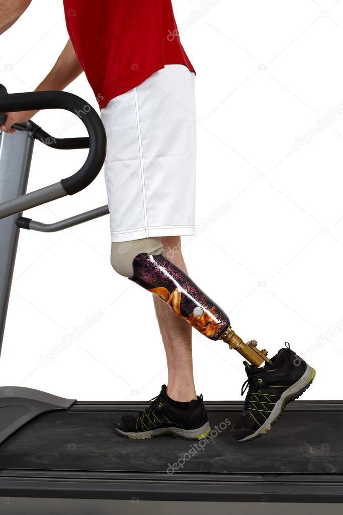 réhabilitation en cours de prothèse masculine