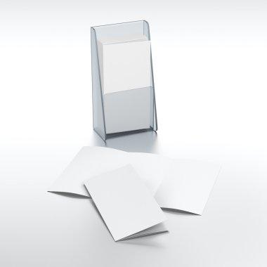 Holder for leaflets