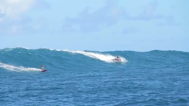 Tow-szörfös nagy hullám