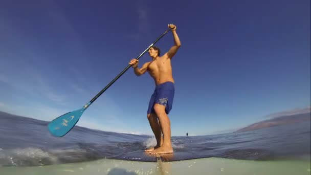 POV Stand Up Paddle-szörfözés